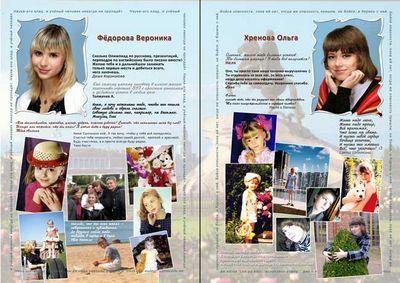 Фотокнига для выпускников школы