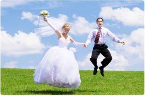 съемка бракосочетания в Москве